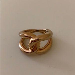 Michael Kors Gold Love Knot Ring